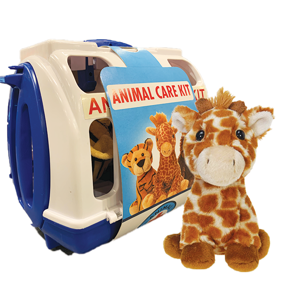 GIRAFFE ANIMAL CARE KIT