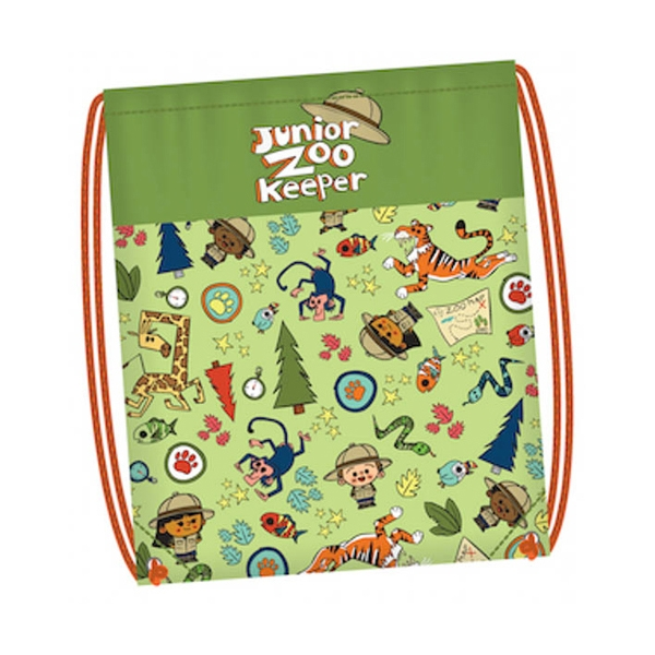 JUNIOR ZOOKEEPER DRAWSTRING BACKPACK
