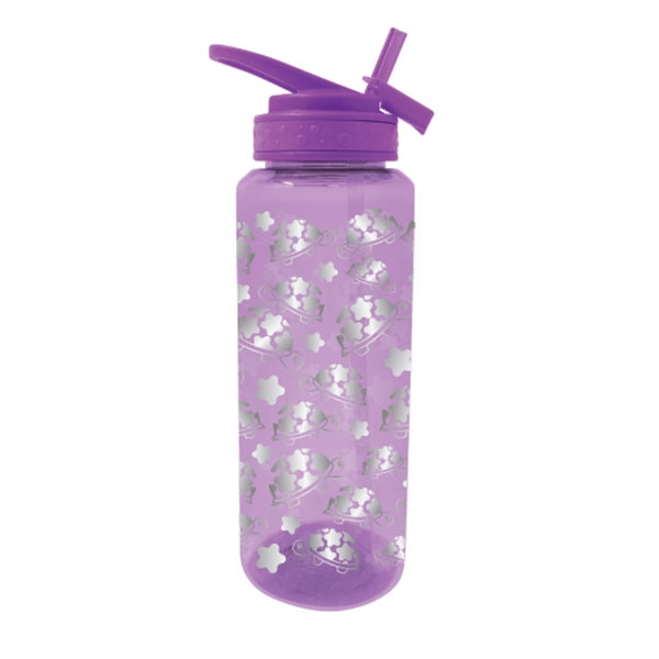 GLITTER TURTLE FOIL BOTTLE