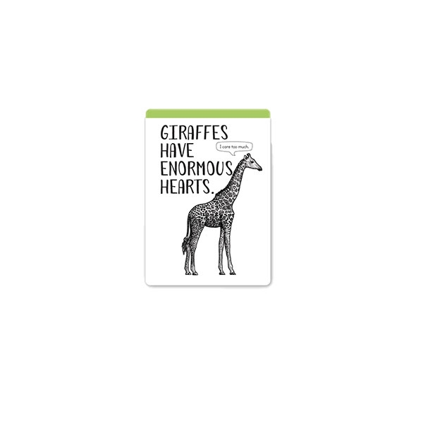 GIRAFFE FUN FACT MAGNET