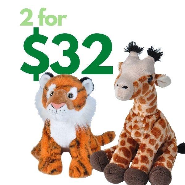 2 FOR $32 PLUSH