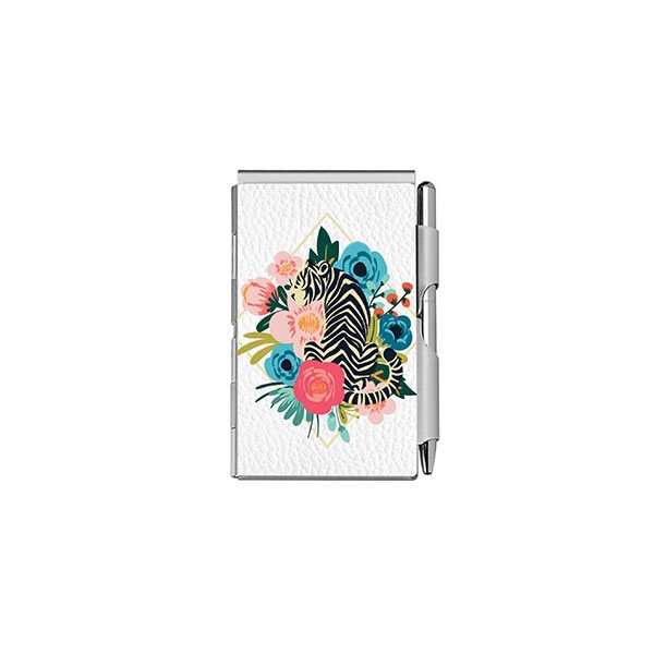 FLORAL TIGER NOTEPAD AND PEN