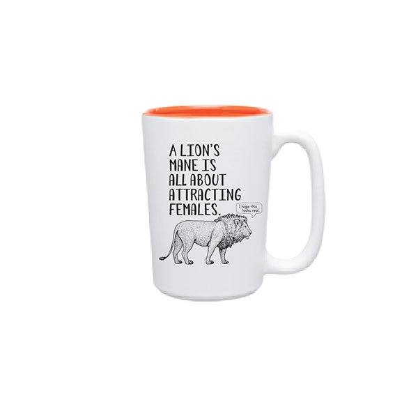 LION FUN FACT MUG