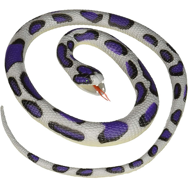 BLUE ROCK RUBBER SNAKE- 26""