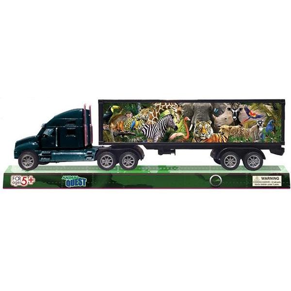ANIMAL QUEST TRACTOR TRAILER