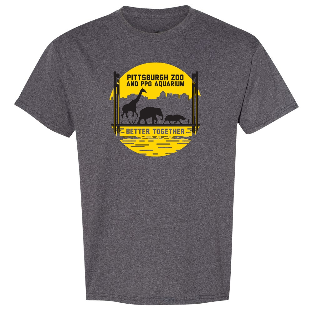 ADULT PITTSBURGH ZOO BETTER TOGETHER TEE