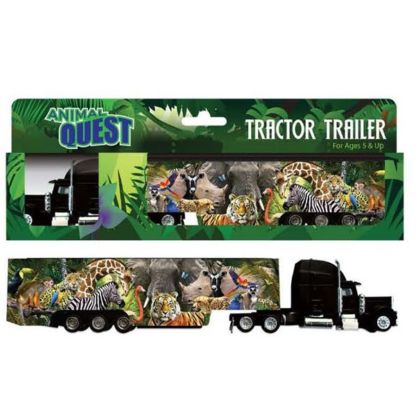 ANIMAL QUEST SEMI-TRAILER TRUCK