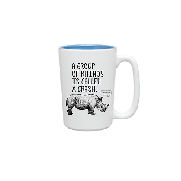 RHINO FUN FACT MUG